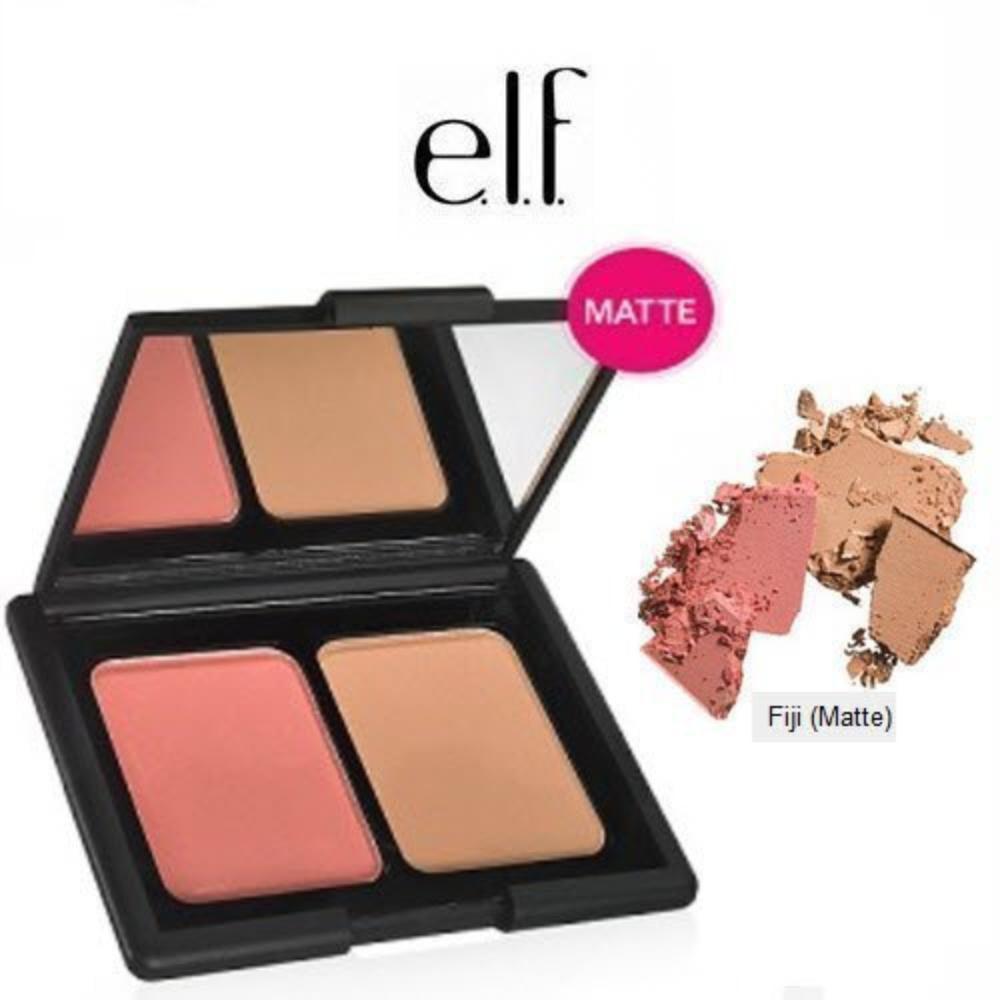 e.l.f. Studio Contouring Blush & Bronzing Powder 83604 Fiji (Matte) by e.l.f. Cosmetics, e.l.f. Studio Contouring Blush & Bronzing Powder 83604 Fiji.., By elf Cosmetics