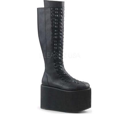 Women's Demonia Rot 13 Knee-High Platform Boot