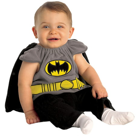 Rubie's Newborns 'Baby Batman' Halloween Costume, Grey/Black/Yellow, 0-9 - Halloween Newborn Costumes