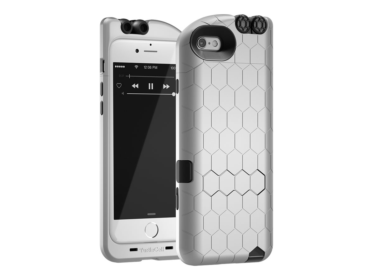 competitive price 5fd4b d1438 TurtleCell Apple iPhone 6/6S Retractable Headphone Case