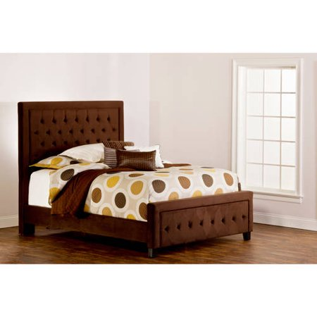 kaylie queen bed chocolate w matching side rails. Black Bedroom Furniture Sets. Home Design Ideas