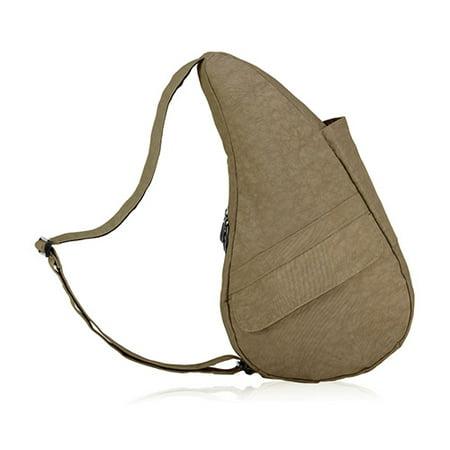 Extra Small Nylon Healthy Back Bag - Taupe Extra Small Nylon Healthy Back Bag