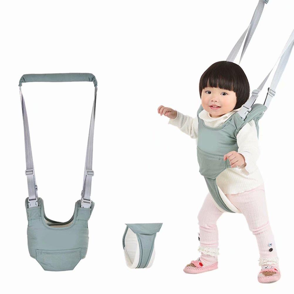 Breathable Baby Toddler Walking Safety Harness Belt Walking Helper Kid's Safe Assistant Strap,Green