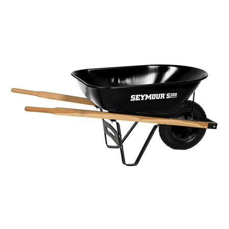 Midwest Rake LLC 85718 6 Cu Ft S300 DuraLite™ Steel Wheelbarrow