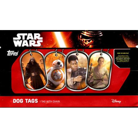 Star Wars The Force Awakens Dog Tags Mystery Pack (Star Wars Dog Accessories)