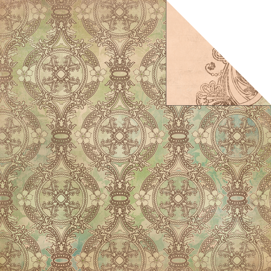 Duchess Double-Sided Paper 12 Inch X 12 Inch-Dynasty