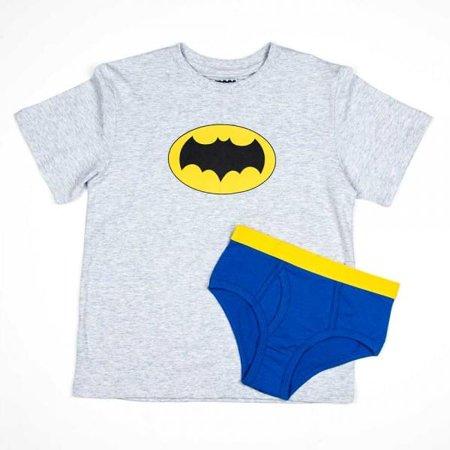 6e7cffaeb84 DC Comics Batman Boy s Shirt Underwear Underoos Set X-Small 4 - image 1 ...