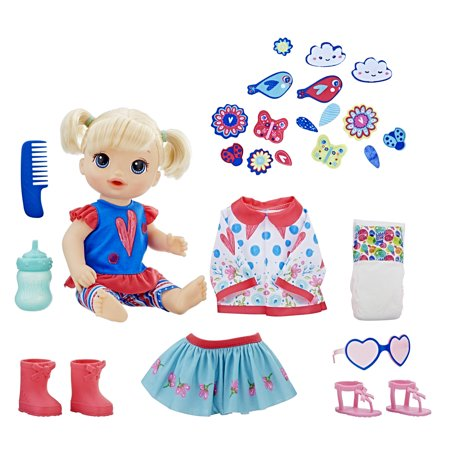 Baby Alive So Many Styles Baby - Blonde Straight Hair