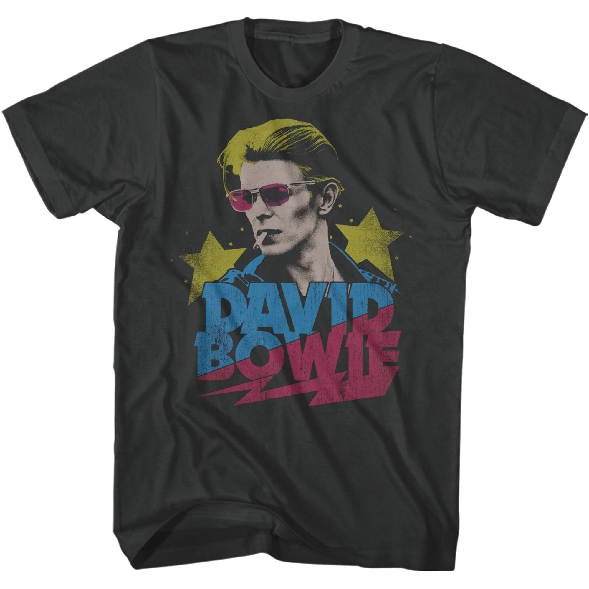 David Bowie Big Men's Graphic Tee, 2XL