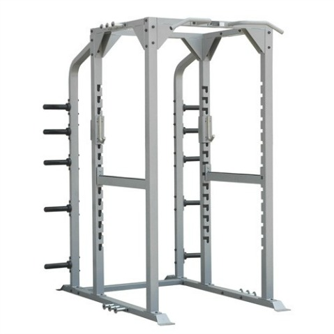 Champion Full Power Rack with Powder Coated Steel Tubing