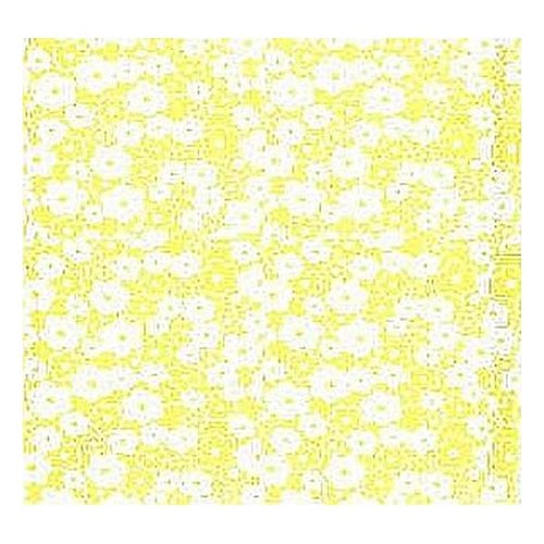Pick Me Mono Flower Quilting Fabric