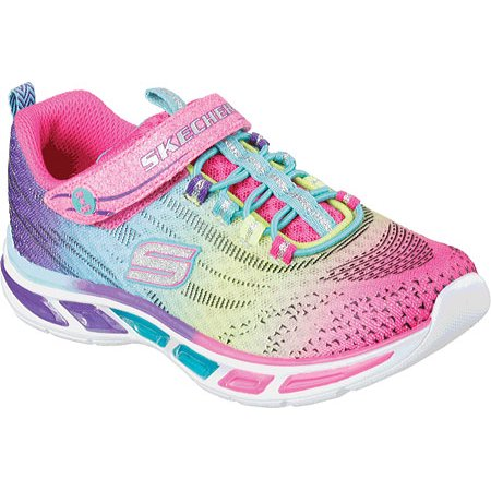 Lights Bungee Litebeams Girls' Lace S Skechers Sneaker CxroBed
