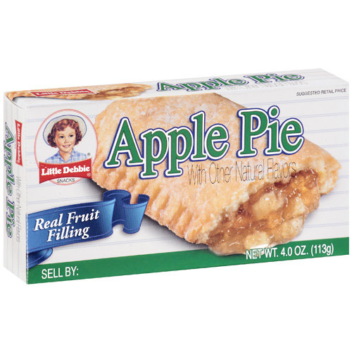 Little Debbie Apple Pie, 4 oz