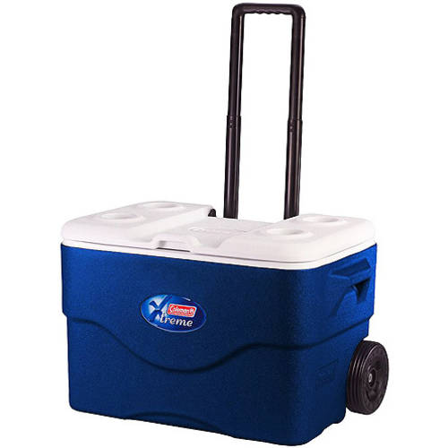 Coleman Xtreme 50 - quart Wheeled Game Time Cooler