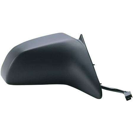 61501F - Fit System Passenger Side Mirror for 88-94 Ford Tempo 4 door Passenger Side, Mercury Topaz 4 door, black, non-foldaway, -