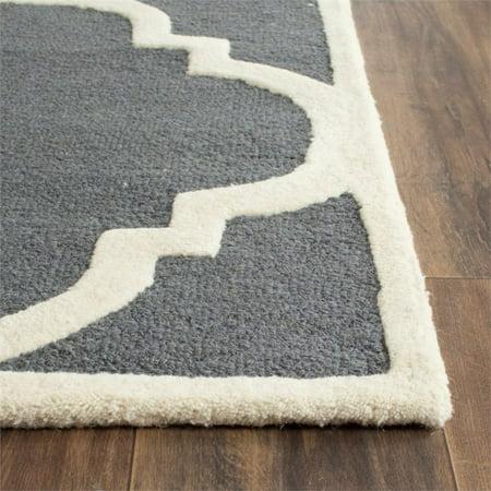 "Safavieh Cambridge 2'6"" X 12' Hand Tufted Wool Rug - image 7 of 10"