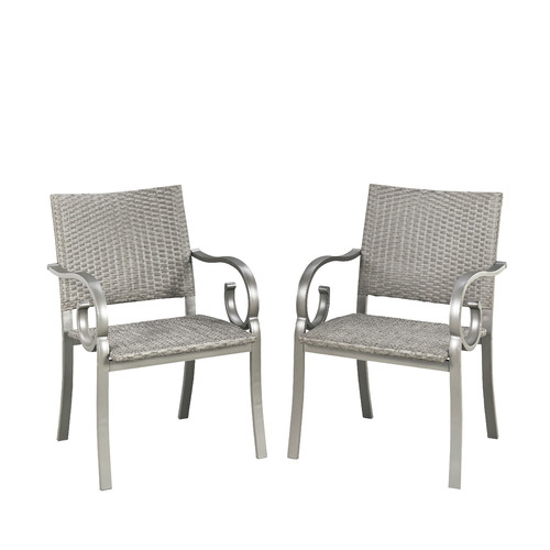 Home Styles Capri Outdoor Dining Armchair (Set of 2) by Home Styles
