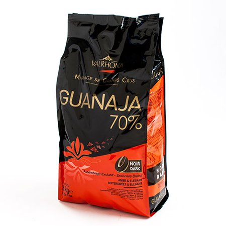 Valrhona Guanaja Chocolate Couverture Extra Bitter Feves 70% (6.6 pound)