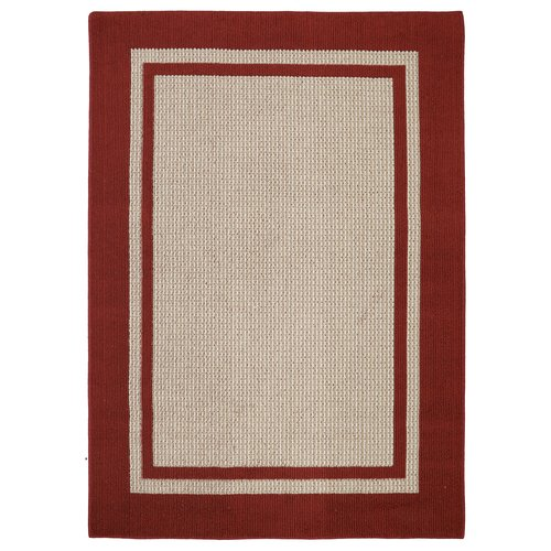 Mohawk Home Solid Border Textured Tufted Area Rug
