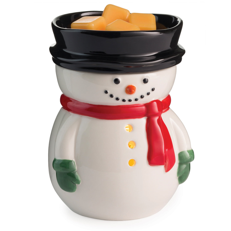 Frosty Winter Holiday Illumination Fragrance Warmer By