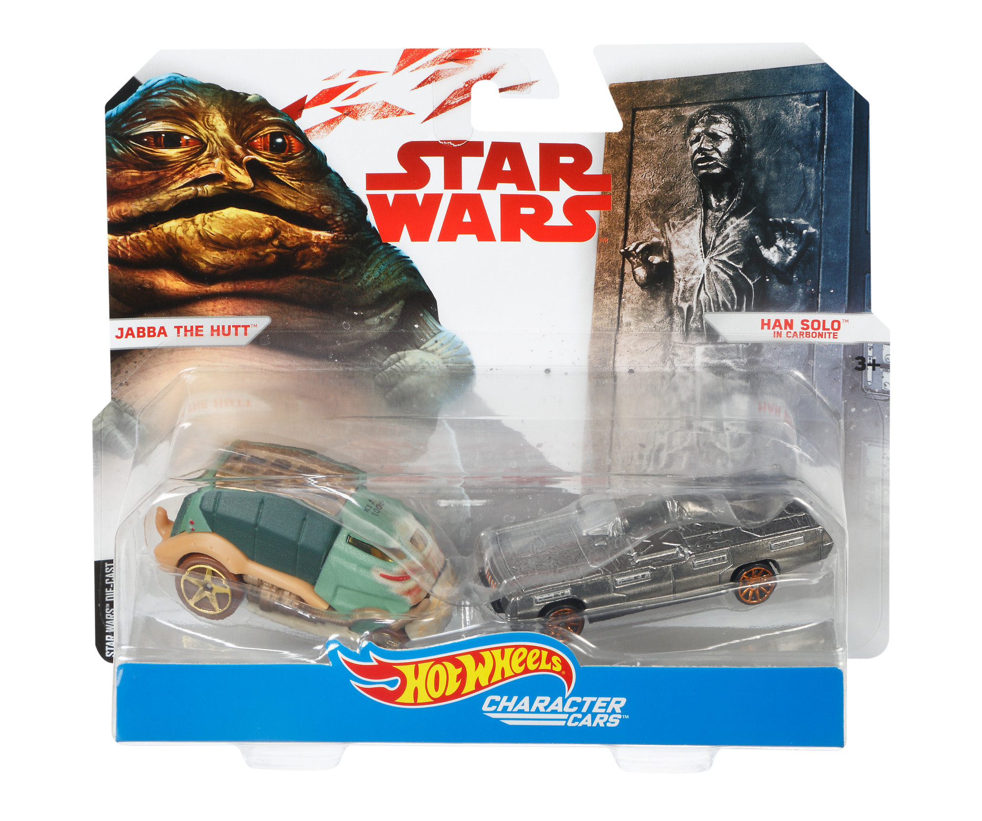 Hot Wheels Star Wars Character Cars Han Solo, 1.0 CT by Mattel