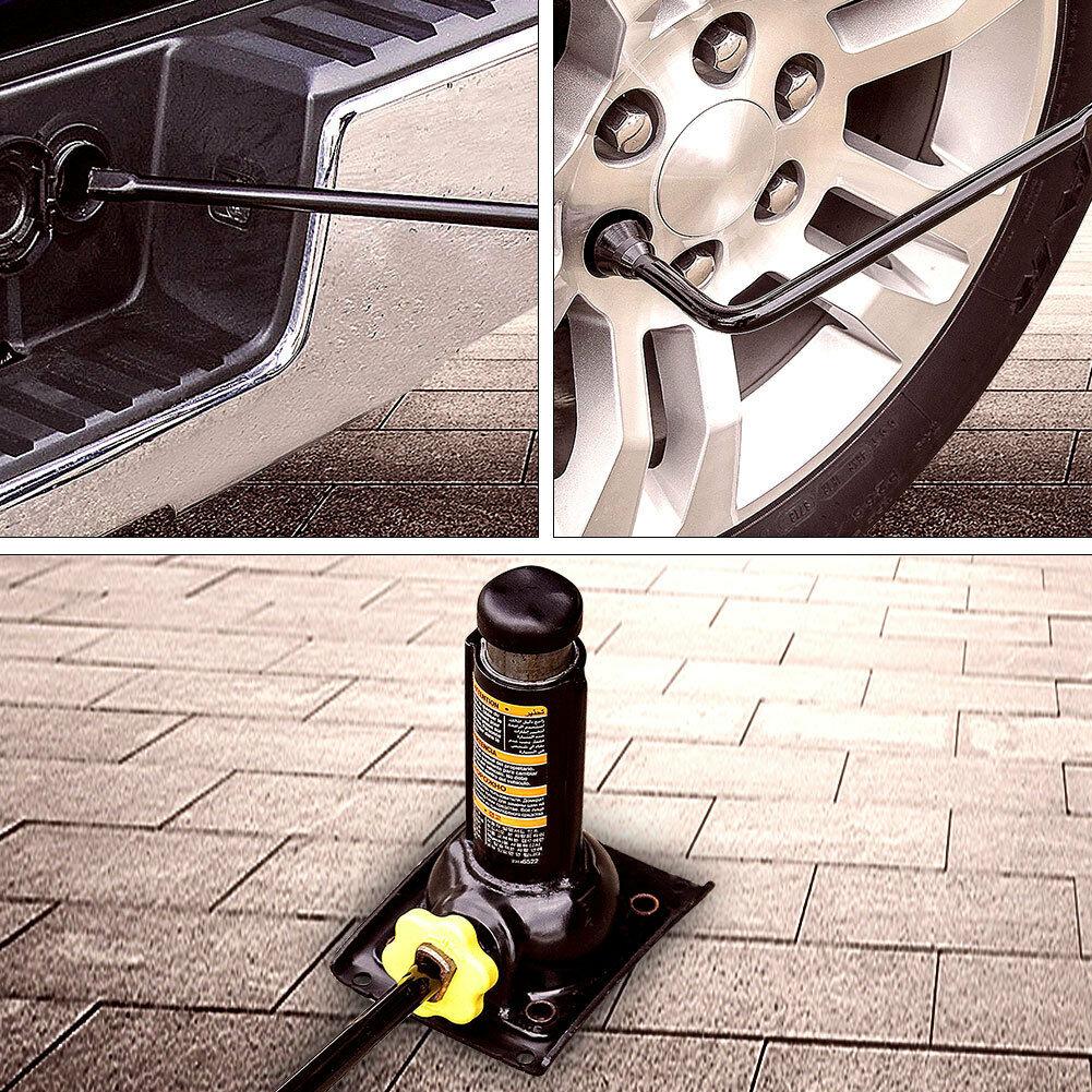 Spare Tire Lug Wrench Jack Tool Kit for Chevy Silverado 1500 GMC Sierra Yukon XL