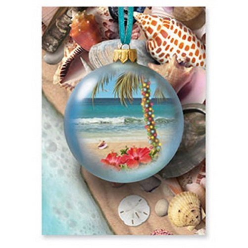 Christmas Cards Box Set 16 Cards and 16 Envelopes, Treasures of the Sea