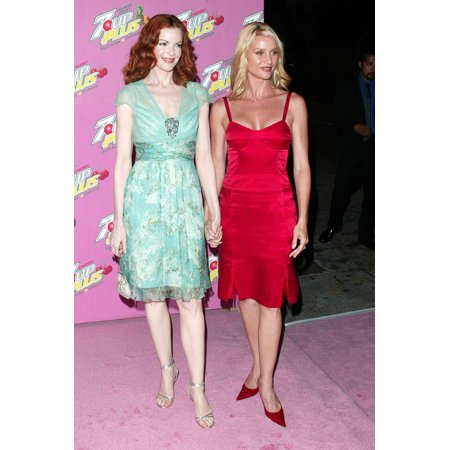 Halloween Clubs In Los Angeles Ca (Marcia Cross And Nicolette Sheridan At Arrivals For 7-Up Plus Premiere Party Cabana Club Los Angeles Ca August 23 2005 Photo By Jeremy MontemagniEverett Collection)