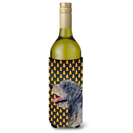 Irish Wolfhound Candy Corn Halloween Portrait Ultra Beverage Insulators for slim cans SS4299MUK (Irish Resources For Halloween)