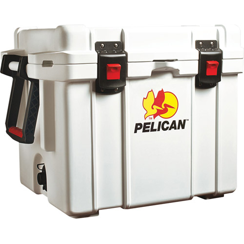 "Pelican 32-65Q-MC-WHT ProGear Elite Marine Deluxe Cooler with 2"" Insulation, 65qt."