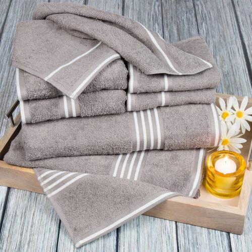 Somerset Home Rio 8-Piece 100% Cotton Towel Set