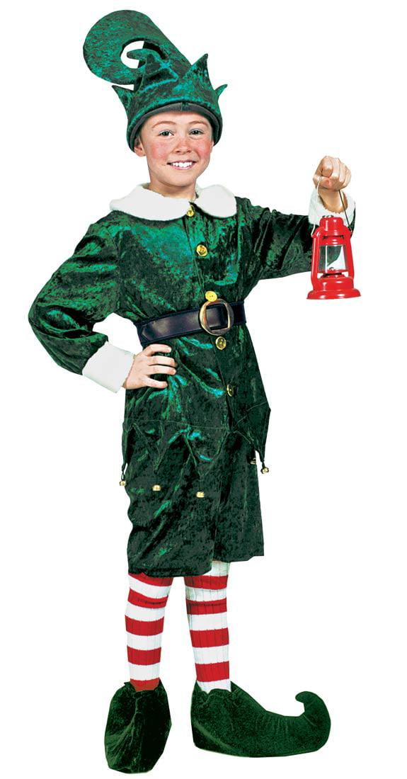 sc 1 st  Walmart & Holly Jolly Elf Child Halloween Costume - Walmart.com