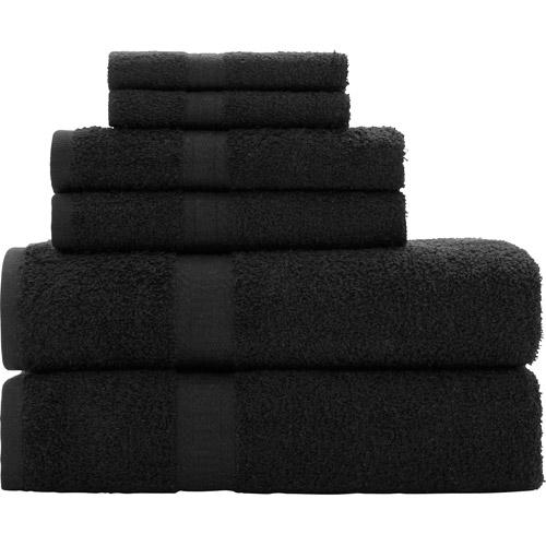 Mainstays Basic 6-Piece Towel Set