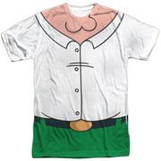 Family Guy - Peter Costume (Front/Back Print) - Short Sleeve Shirt - Medium