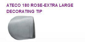 Cake / Cupcake Decorating Extra Large Rose Tip #180