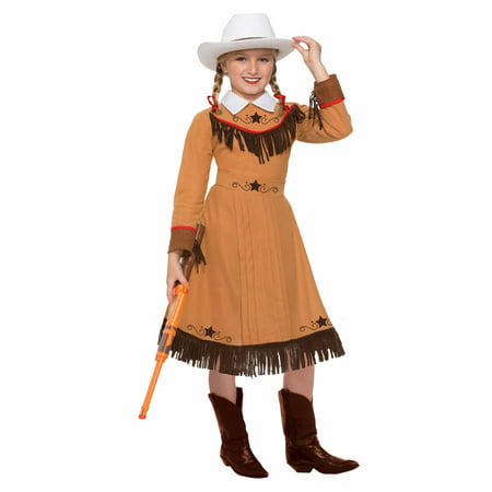 Girls Texas Rosie Costume - Western Barmaid Costume