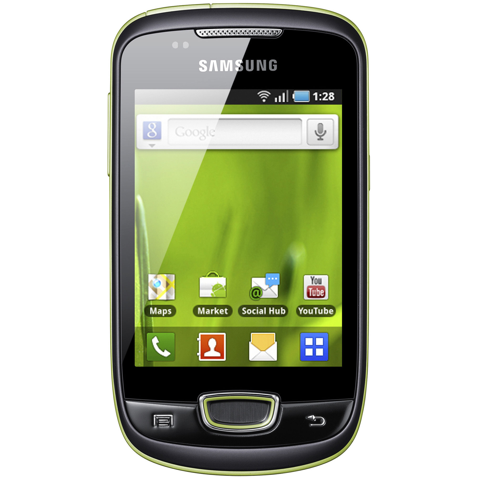 Samsung S5570 Galaxy Mini GSM Cell Phone, Black (Unlocked)