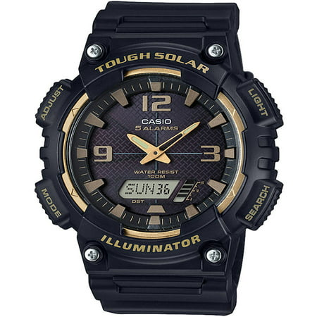 Solar Wave Watch (Mens Sport Tough Solar Illuminator Watch)