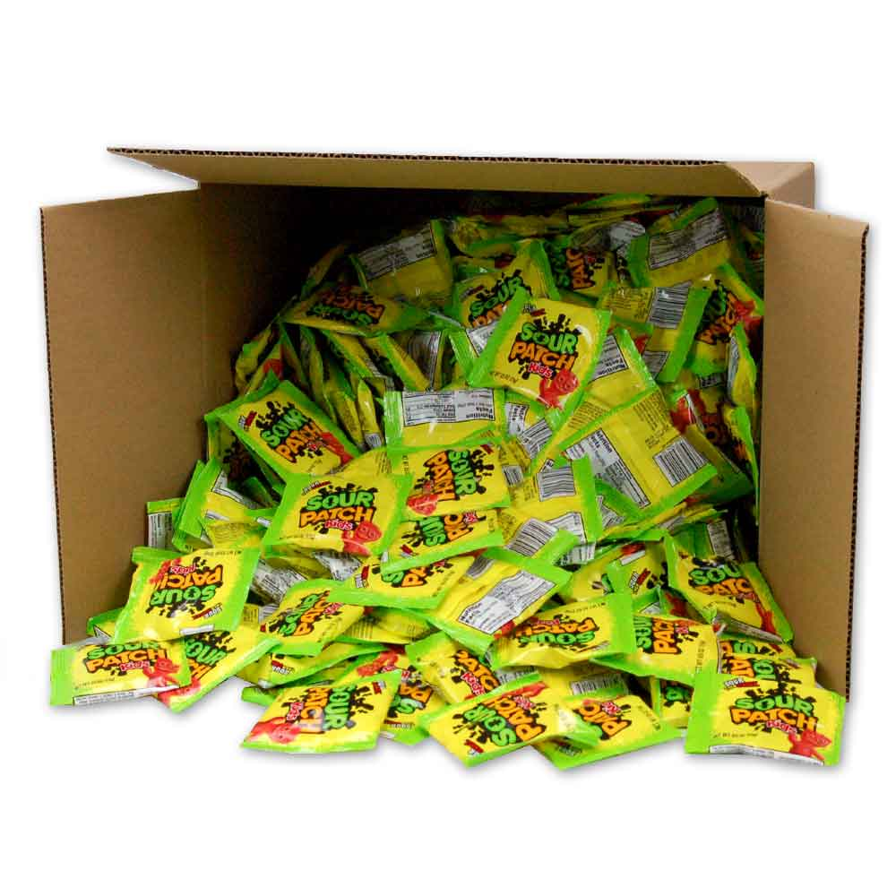 Sour Patch Chewy Candy .528 oz pouch 400 ct bulk