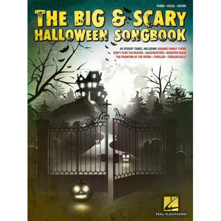 Hal Leonard The Big & Scary Halloween Songbook for Piano/Vocal/Guitar - Old Scary Halloween Songs