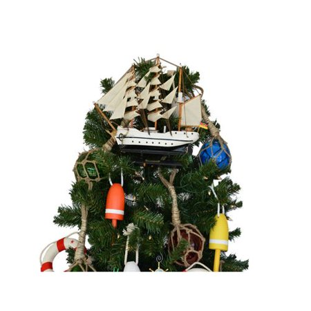 handcrafted nautical decor gorch fock model ship christmas tree topper decoration - Walmart Christmas Tree Toppers