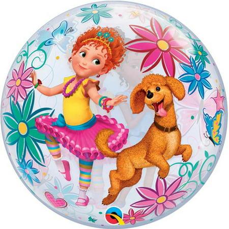Fancy Nancy Bubbles Stretchy Plastic Balloon 22