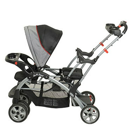 Baby Trend Sit N Stand Plus Double Stroller, Millennium