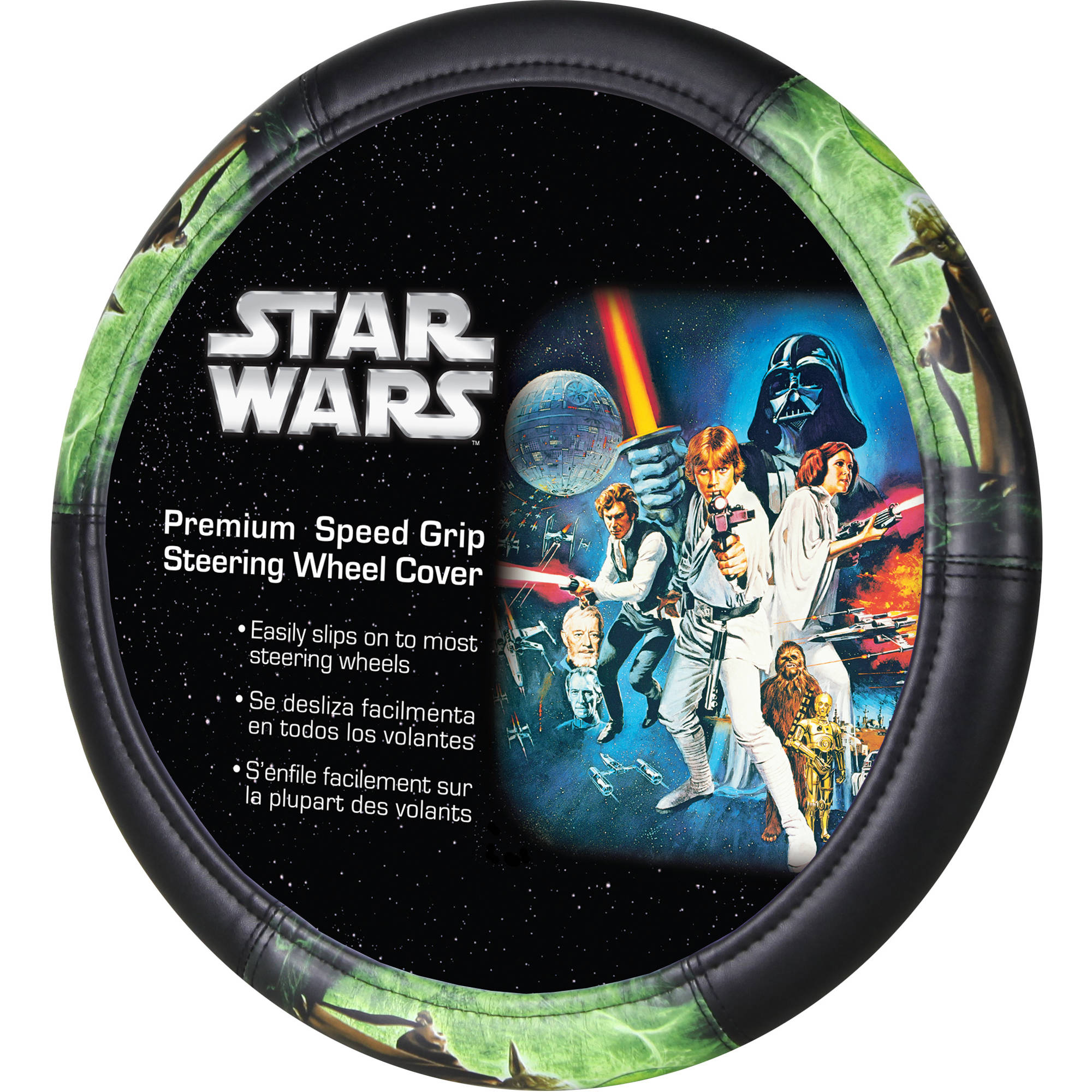 Star Wars Yoda Speed Grip Steering Wheel Cover