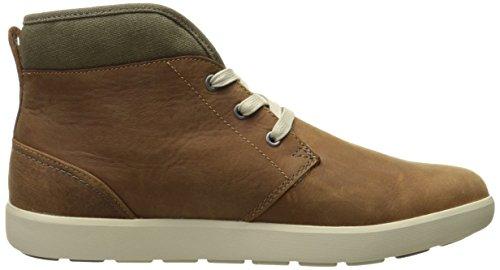 Helly Hansen Men's Gerton-M Hiking Boot, Dark Camel/Walnut/Natural, 12 M US