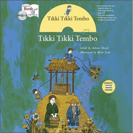 Tikki Tikki Tembo book and CD Storytime Set