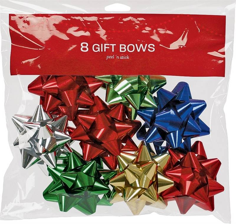 Berwick Offray 14101829-BG08 Bows Large Tidings Of Joy - Pack of 24