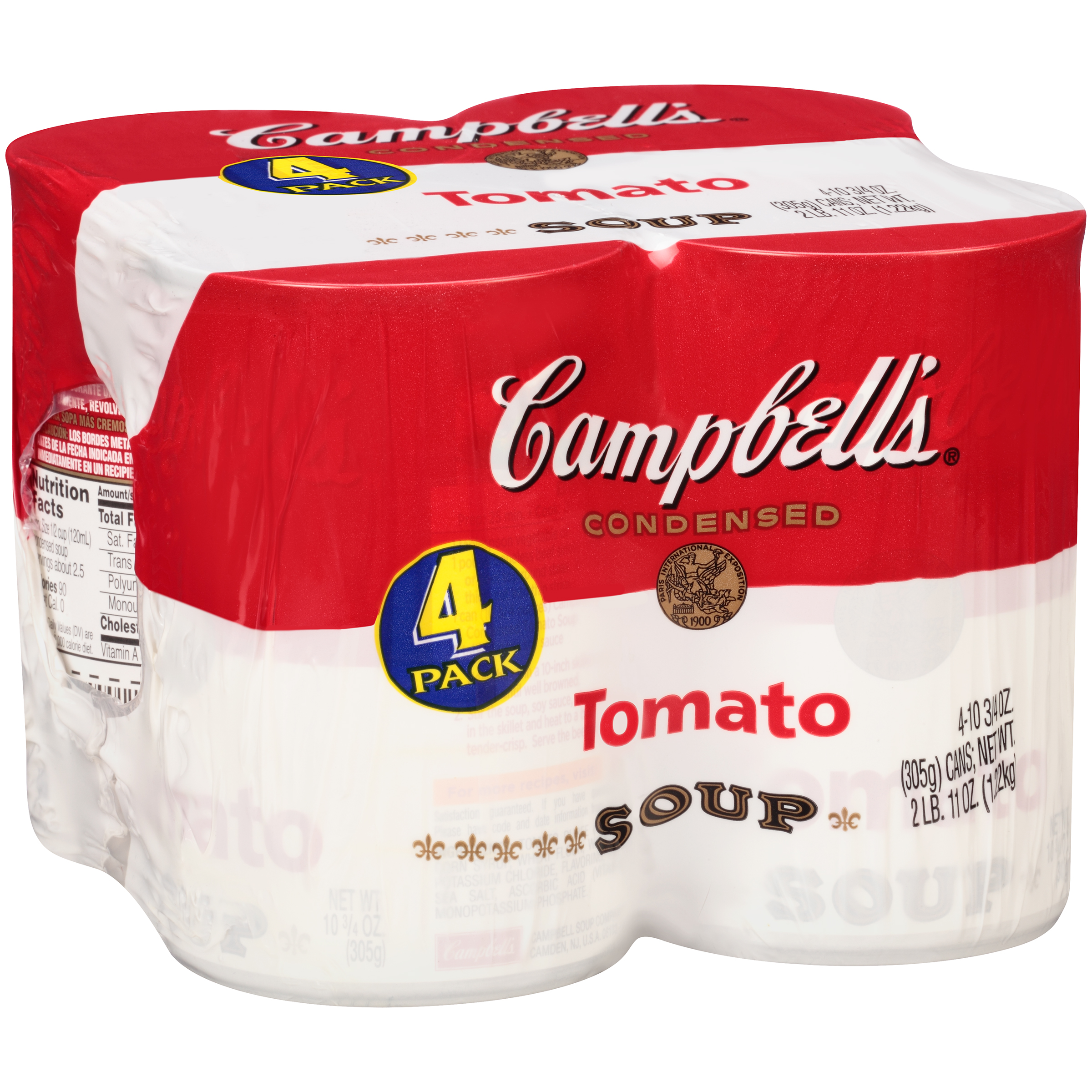 Campbell's Tomato Soup 10.75oz 4 pack