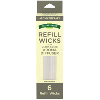 Nature's Truth Aromatherapy Refill Wicks for Ultra Sonic Diffuser, 6 Ct