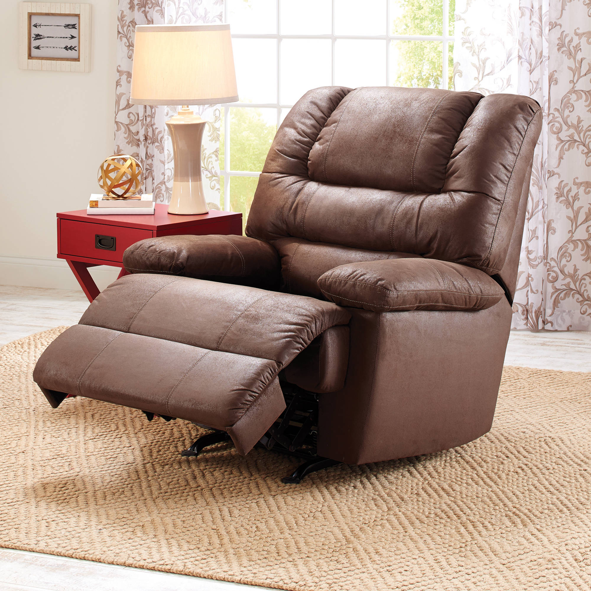 Better Homes and Gardens Deluxe Recliner Walmartcom